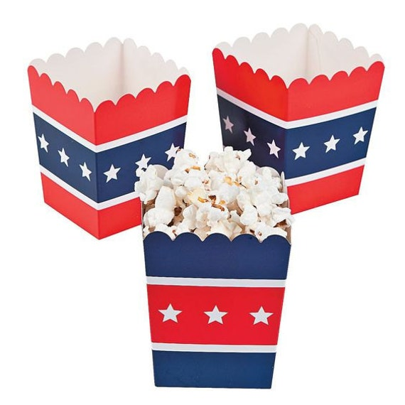 4th of July Favors July 4th Favor Boxes July 4th by PartyFetti