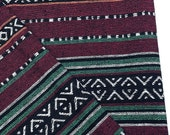 Thai Woven Cotton Fabric Tribal Fabric Native Fabric by the yard Ethnic fabric Aztec fabric Craft Supplies Woven Textile 1/2 yard (WF109)
