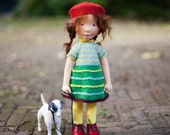 Pien - Handmade cloth doll. (Partial payment accepted)