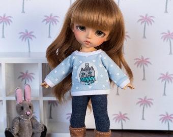 Winter Kitten Sweater for PukiFee / Lati-Y