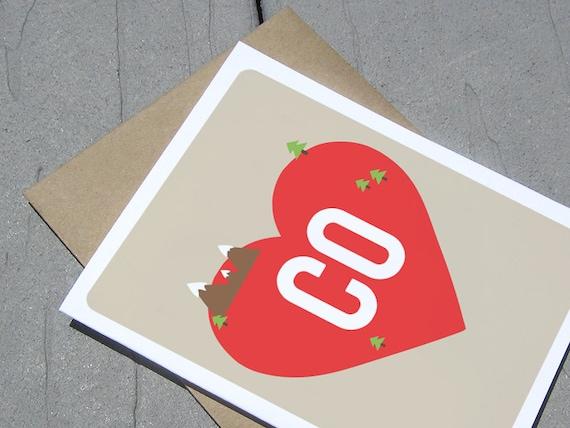 Colorado Love - Greeting Card