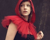 Little Red Riding Hood costume, red cape, adult halloween costume, girls and women