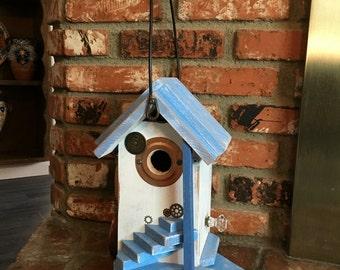 Birdhouse, Functional Bird House Garden Decorative Nest Box, Birdhouses For Sale, Unique Bird's Houses, Item #477775683