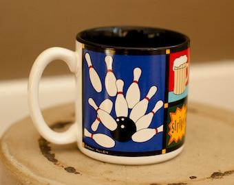 90s WORLD CLASS BOWLER Mug