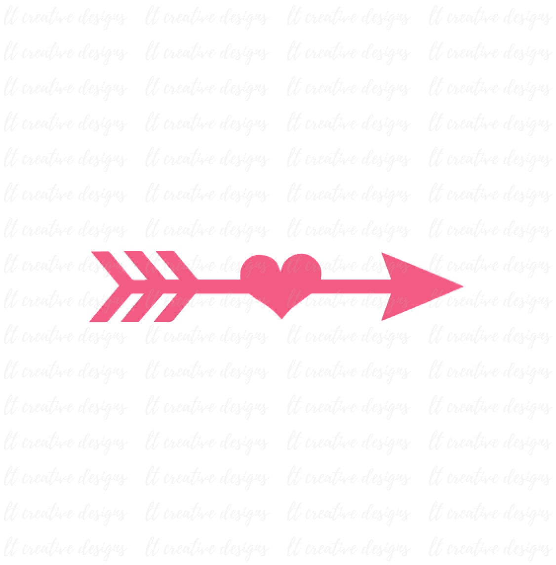Arrow SVG Arrow Heart SVG Arrow Cutting File Arrow Clipart