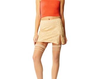 Carrot Top Orange Tube Top X American Deadstock Basics