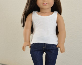 Doll Clothes: Super Skinny Jeans for 18 Inch Dolls