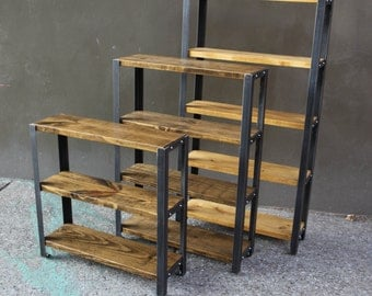 Reclaimed Wood Bookcase // Reclaimed Wood Shelves // Shelves // Bookcase // Back to School