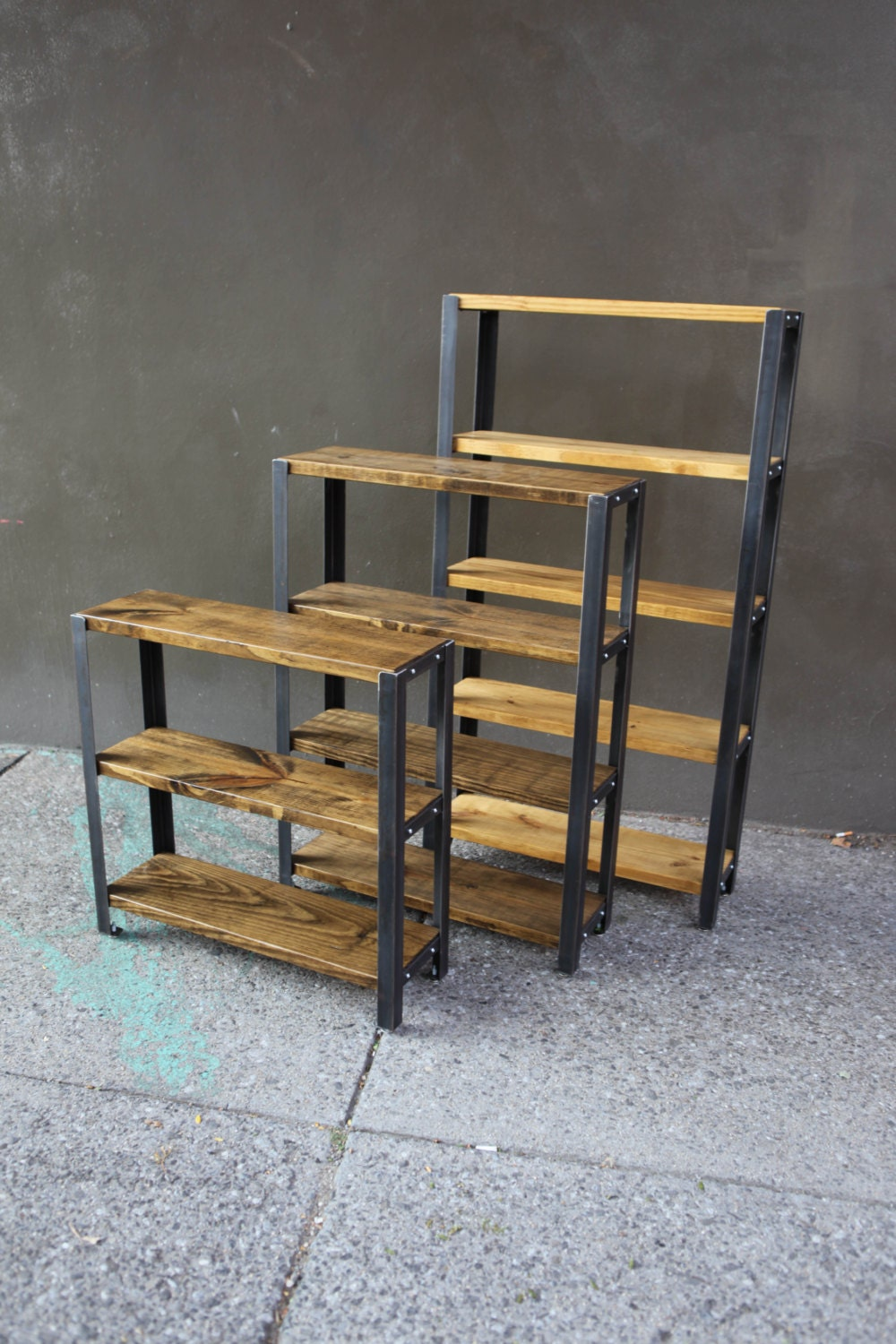 Reclaimed Wood Bookcase // Reclaimed Wood Shelves // Shelves