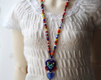 Yesenia - ethnic necklace for SD