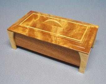 Wooden Jewelry Box, Ring Organizer, Ring Holder, Jewelry Box, Ring Storage, Wooden Ring Box
