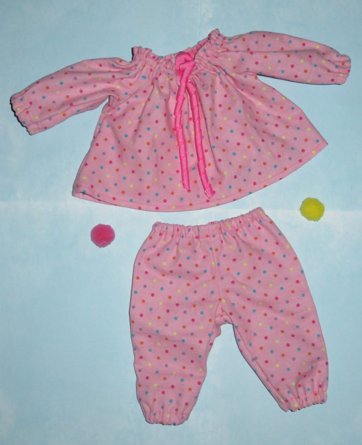 Handmade 18 20 Inch Baby Doll Clothes Dot to Dot by