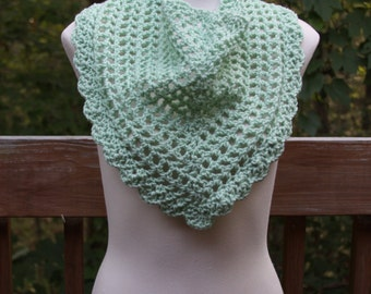 The Valentina Scarf in Frosty Green - Ready to Ship