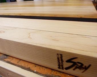 Wood countertop cutting board (large)