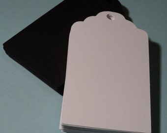sale 30 White tags, Wedding~gift placement cards ~ embellishments  scrapbooking