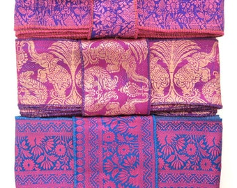 Silk Sari borders, Sari Trim SR427