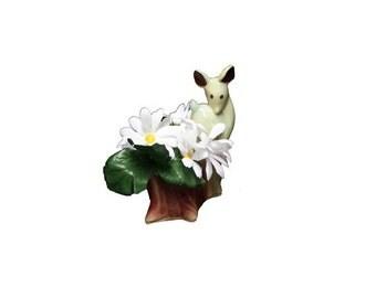 CLEARANCE Vintage Deer Planter - Vintage Shawnee Planter, Mid Century Modern, Ceramic Fawn Planter, Doe, Shawnee USA Pottery, Retro Planter