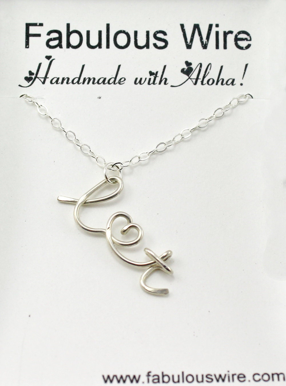 Lovers Initials Necklace