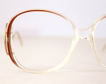 Vintage 70's French Drop Arm Eyeglass Frames