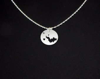 Saint Barts Necklace - Saint Barts Jewelry - Saint Barts Gift