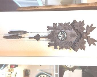 German Vintage Cuckoo Clock C1