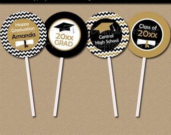 Graduation Cupcake Topper Printable