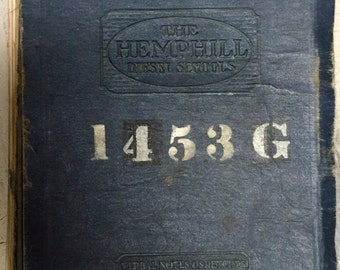 The Hemphill Diesel Schools Verbal Notes and Sketches 1938