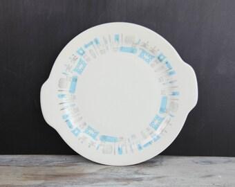 Vintage Blue Heaven, serving platter w/ handles by Royal China