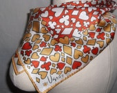Vintage Vera Neumann Silk Scarf, Ladybug, Bridge Scarf