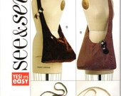 Easy Handbag, Purse or Satchel Pattern - Butterick See & Sew B5273 uncut