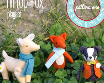 Hilltop Fox Playset: Pattern One