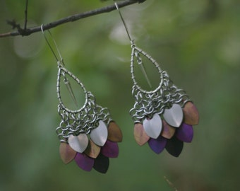 ANDROMEDA earrings - Chara colourway