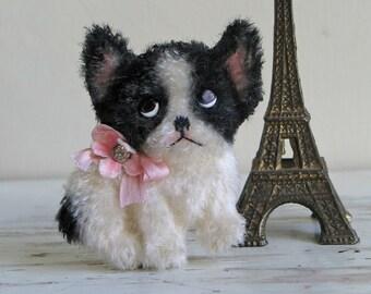 French Bulldog Brooch/Frenchie Dog Brooch/French Bulldog Puppy Brooch