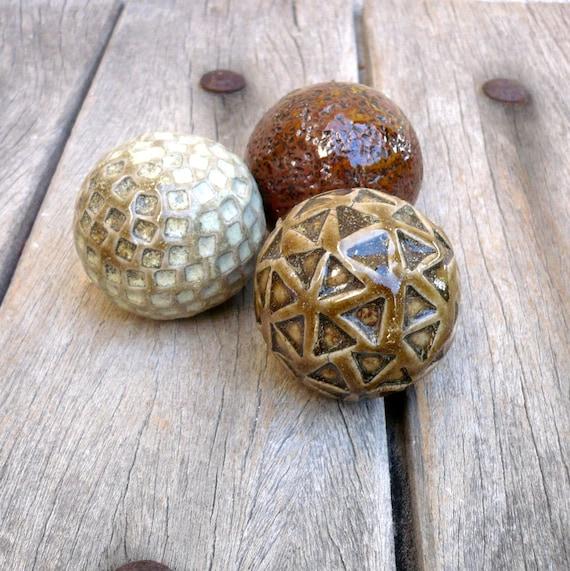 Zen Decor Decorative Ceramic Balls Ceramic Pebbles Spa