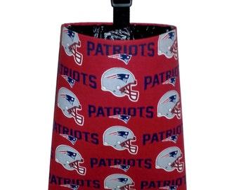 Car Trash Bag for New England Patriots Fans