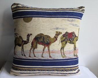 Camel Printed Pillow Cover, Camel Pattern Pillow Case, Animal Pillow Case, Home Decor