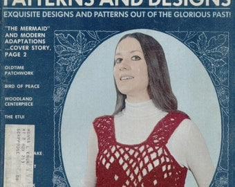 Olde Time Needlework Patterns and Designs--March 1974