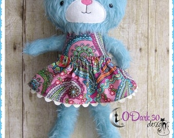 Big Beautiful Boho Bear