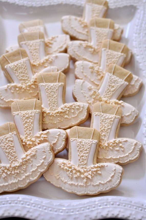 Nutcracker, Sugar Plum Fairy Ballet Tutu Dress Cookies- 1 Dozen Cookie Favor, Baby Shower, Birthday Cookies