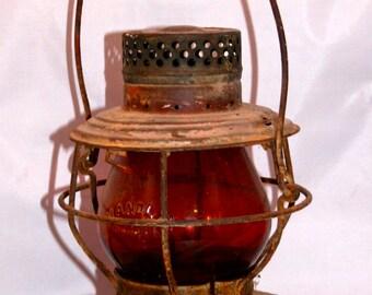 Vintage Red Light Lantern