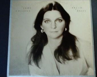 """Judy Collins - Bread & Roses - Folk Singer - """"King David"""" - Elektra Records 1976 - Vintage Vinyl LP Record Album"""