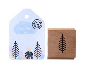 Branch / sprig / tree stamp
