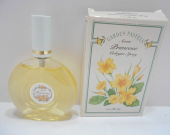 Vintage 1989 Garden Pastels....Avon Primrose Cologne Spray (12) 1.5 fl. oz.