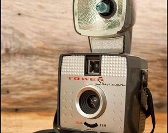Tower Skipper Camera - Vintage 1960s Camera