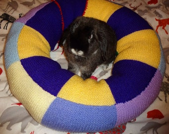 plump Ugli Donut bunny rabbit bed