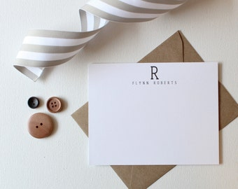Mens Stationery | Mens Stationary | Professional Stationary | Personalized Stationery