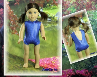 Doll Leotard in Hologram Spandex (Fits American Girl Doll)