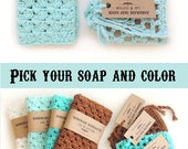 Valentine Gift  Women Gift Girlfriend gift valentine Gift for Wife  Gift For Girlfriend Gift For mom soap set washcloth