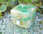 Fairy Wishing Candle, Fairy Candle, Scented Candle, Green Candle, Candle Magic, Fairy Magic, Small Candle, Candle Gift, Orange Fairy Candle
