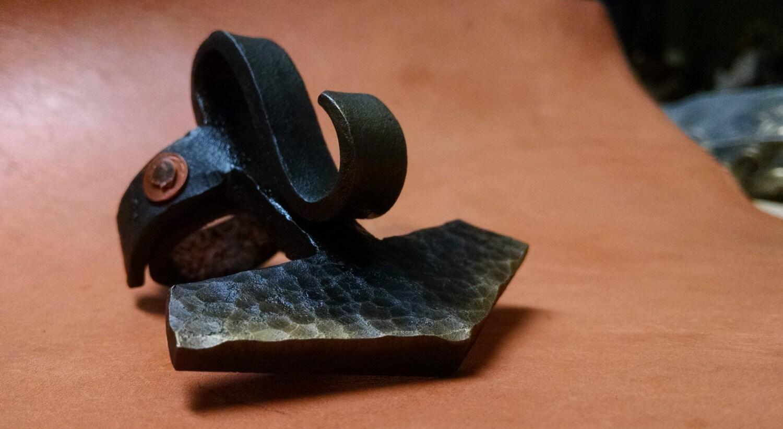 hand forged mjolnir bottle opener ring. Black Bedroom Furniture Sets. Home Design Ideas